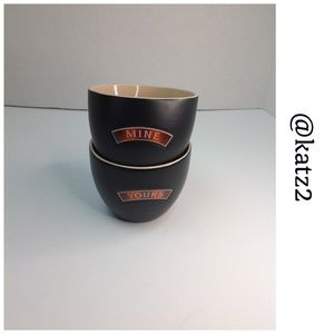 Bailey's Irish Cream MINE/YOURS 2 Cup Set NWOT